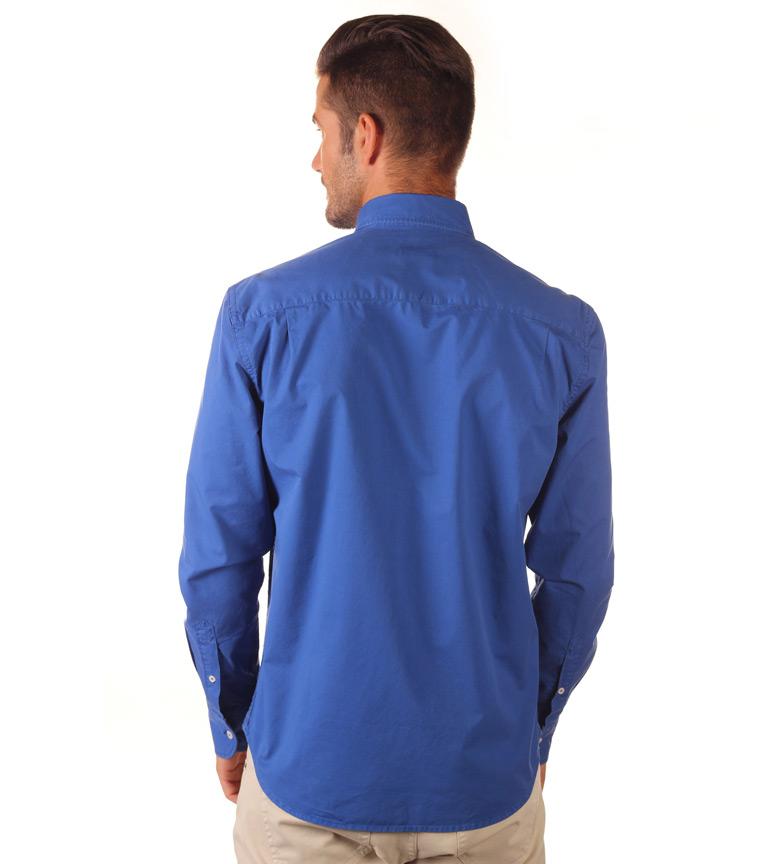 Nautica Camisa Sport azul