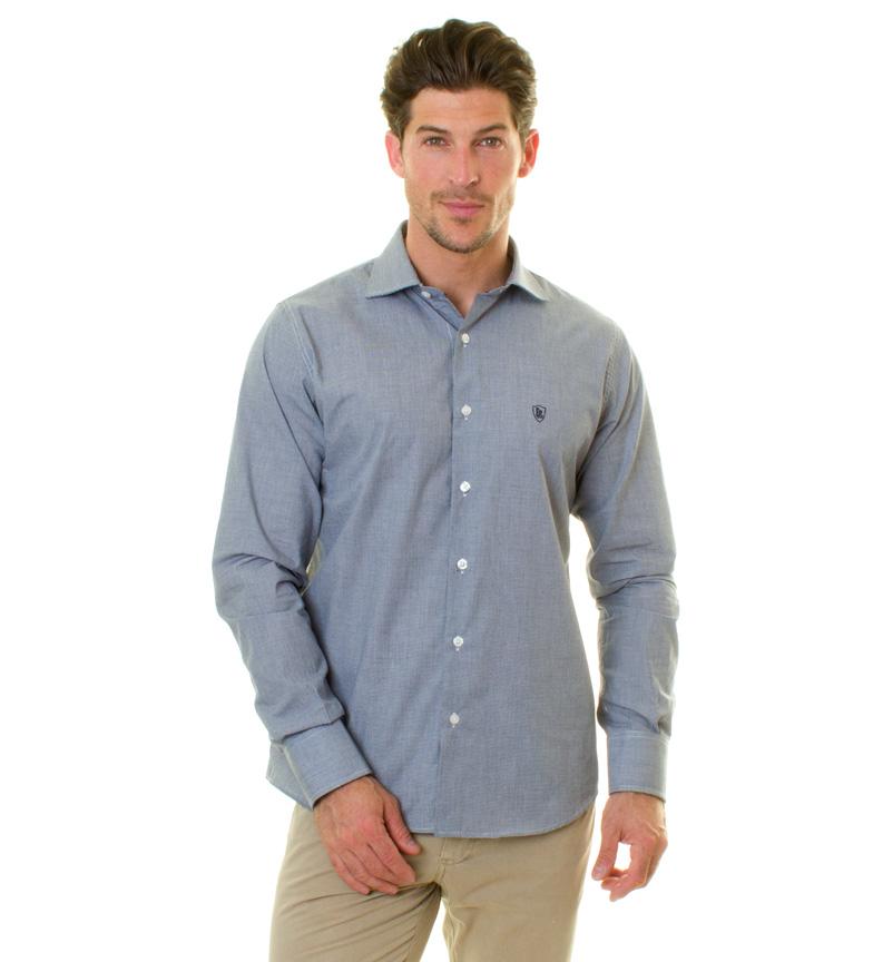 Comprar Devota & Lomba Navy camicia Coronzo