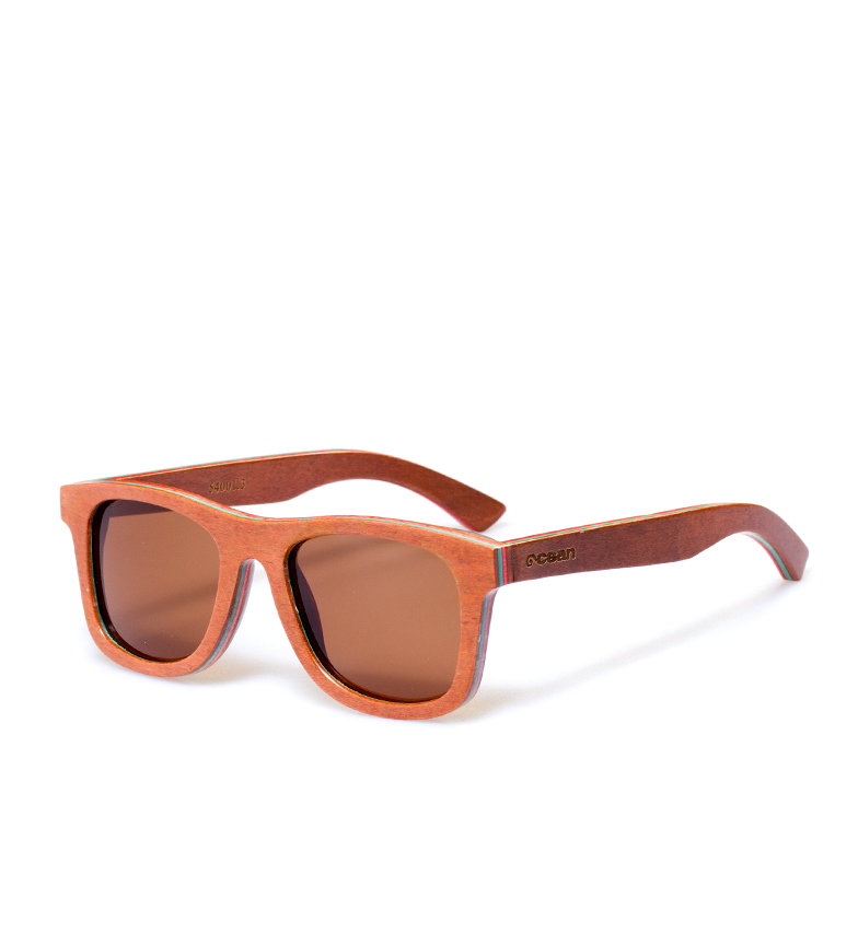 Comprar Ocean Sunglasses Occhiali da sole Benice Beach in legno marrone