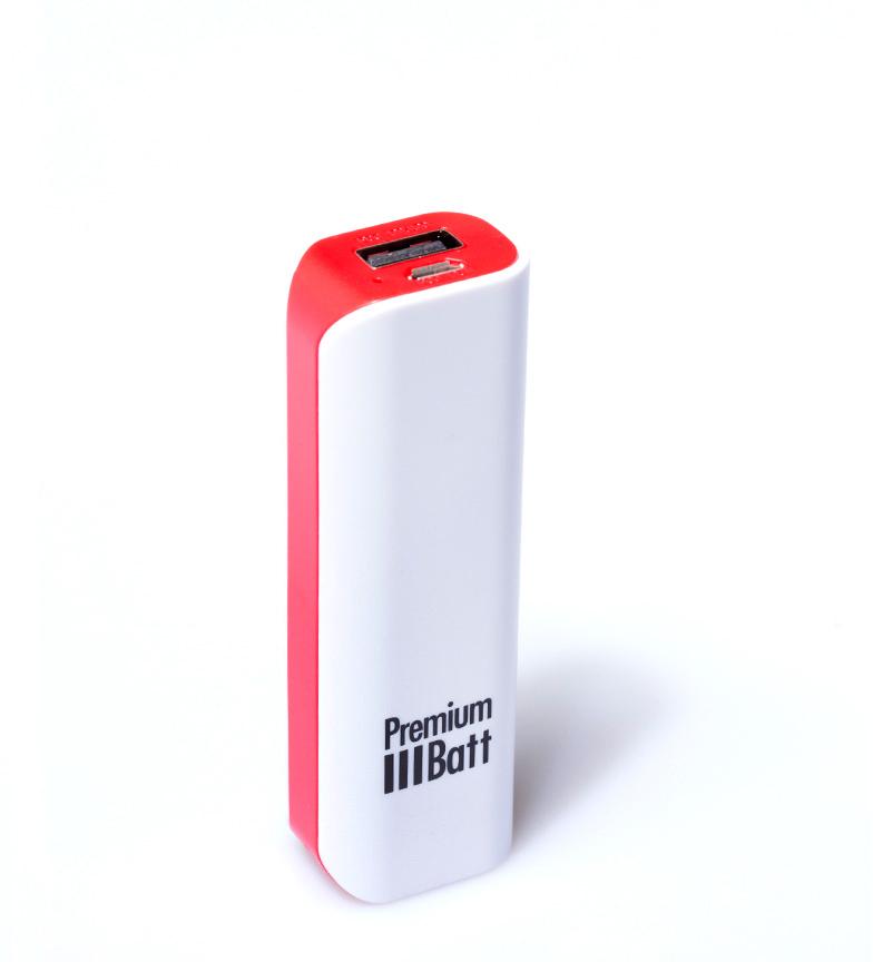 Comprar PremiumBatt 2.600 mAh batterie externe PremiumBatt LM262L rouge