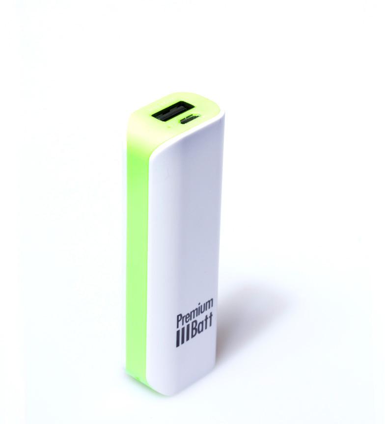 Comprar PremiumBatt Batería externa 2.600 mAh PremiumBatt LM262L verde