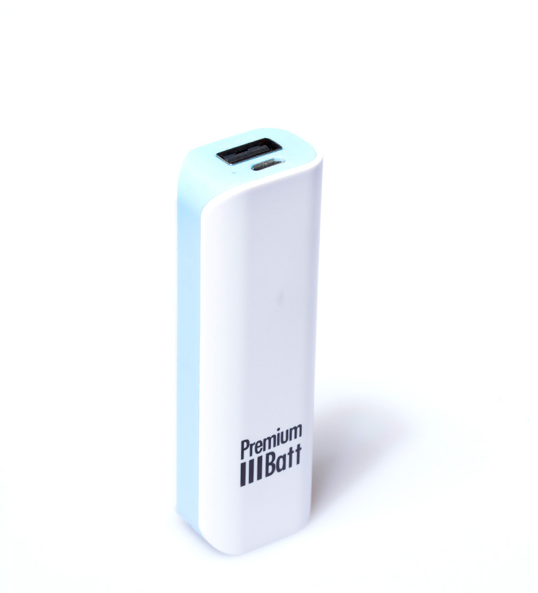 Comprar PremiumBatt Batería externa 2.600 mAh PremiumBatt LM262L azul
