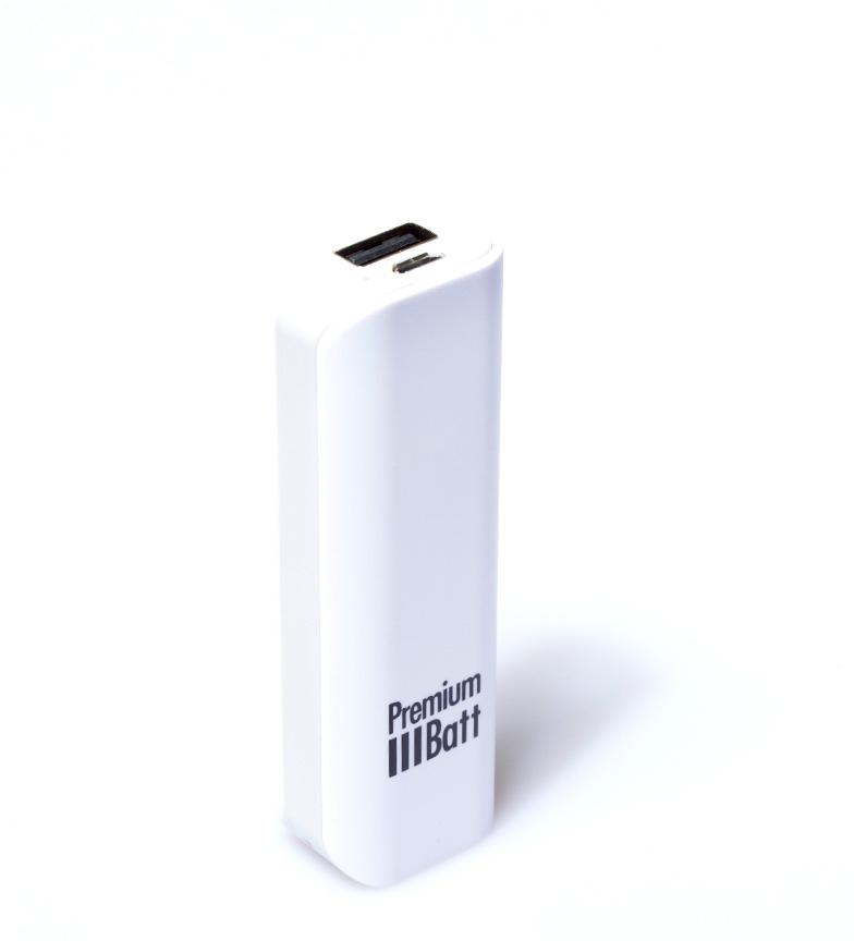 Comprar PremiumBatt 2.600 mAh batteria esterna PremiumBatt grigio LM262L