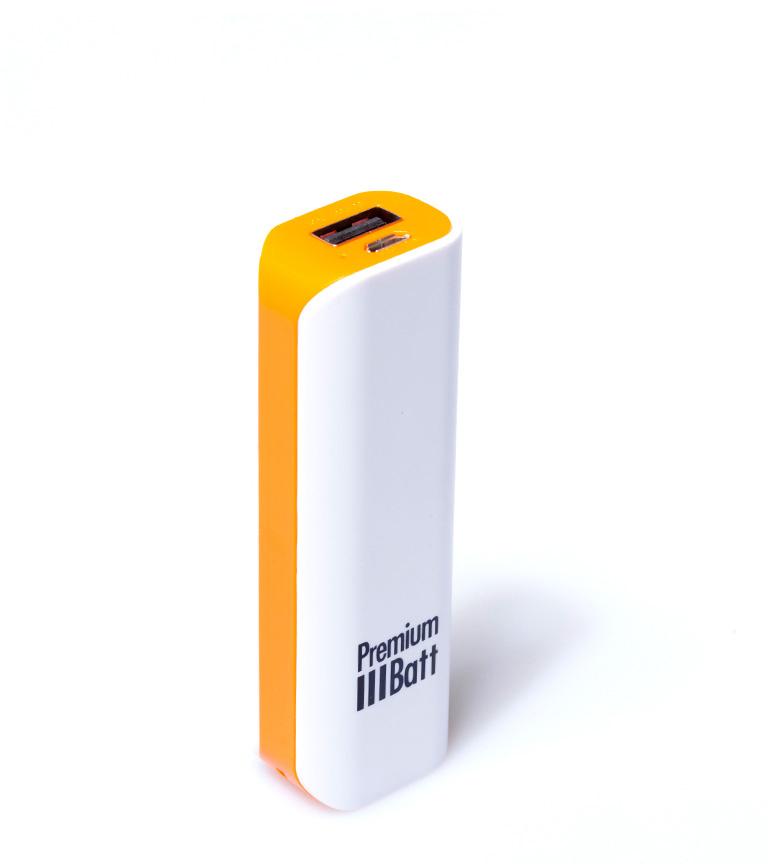 Comprar PremiumBatt Batería externa 2.600 mAh PremiumBatt LM262L naranja