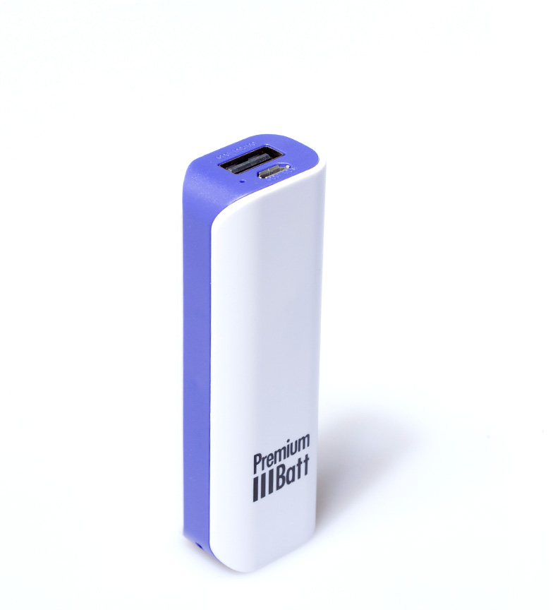 Comprar PremiumBatt Batería externa 2.600 mAh PremiumBatt LM262L lila