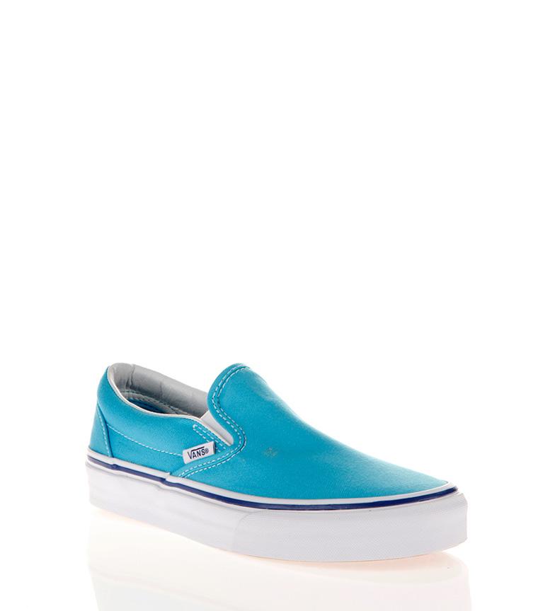 Comprar Vans Classic Slip-on blu ciano, vero bianco