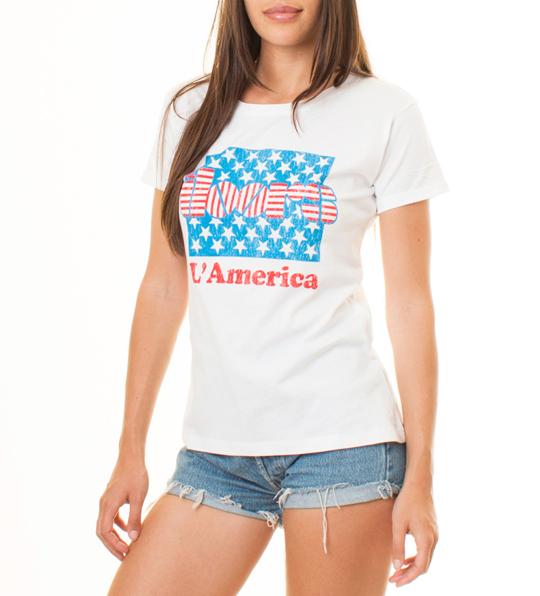 Stardust Camiseta The Doors America blanco