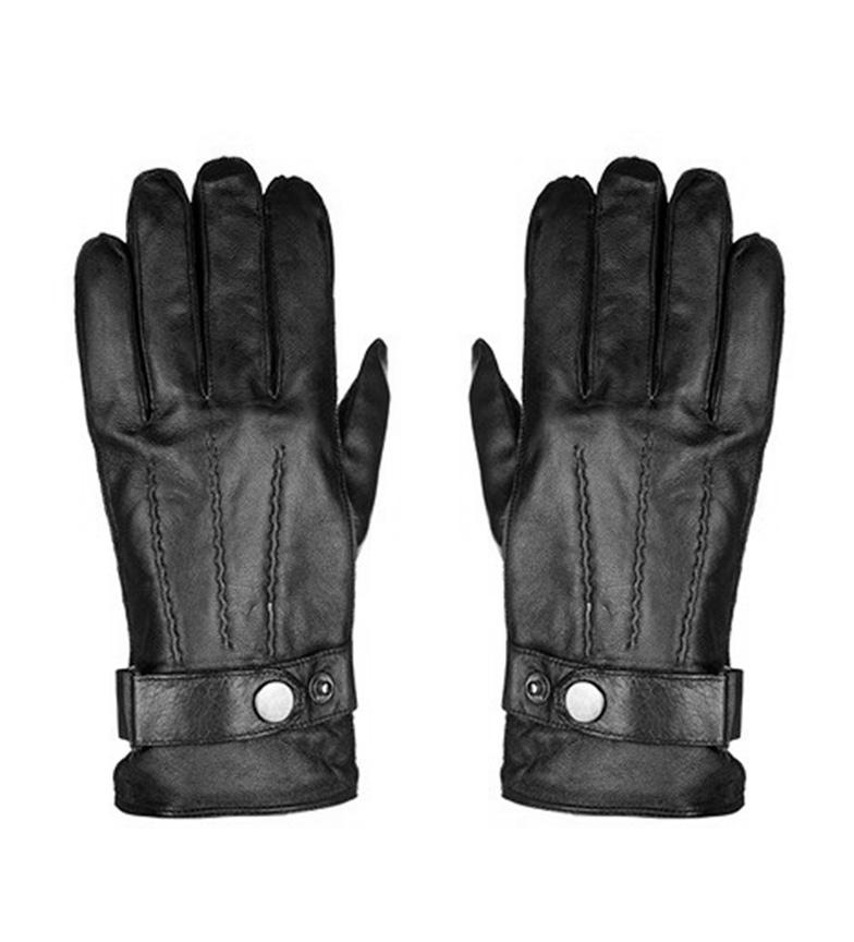 Comprar Marsan Piel Leather gloves Lerok black
