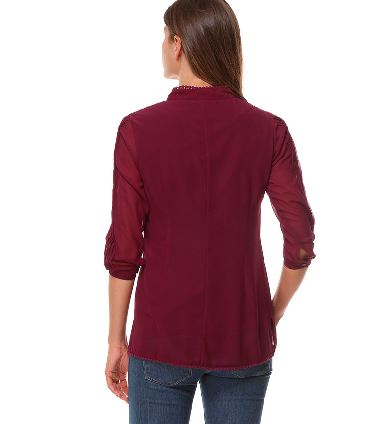Almatrichi Camiseta Amanda morado
