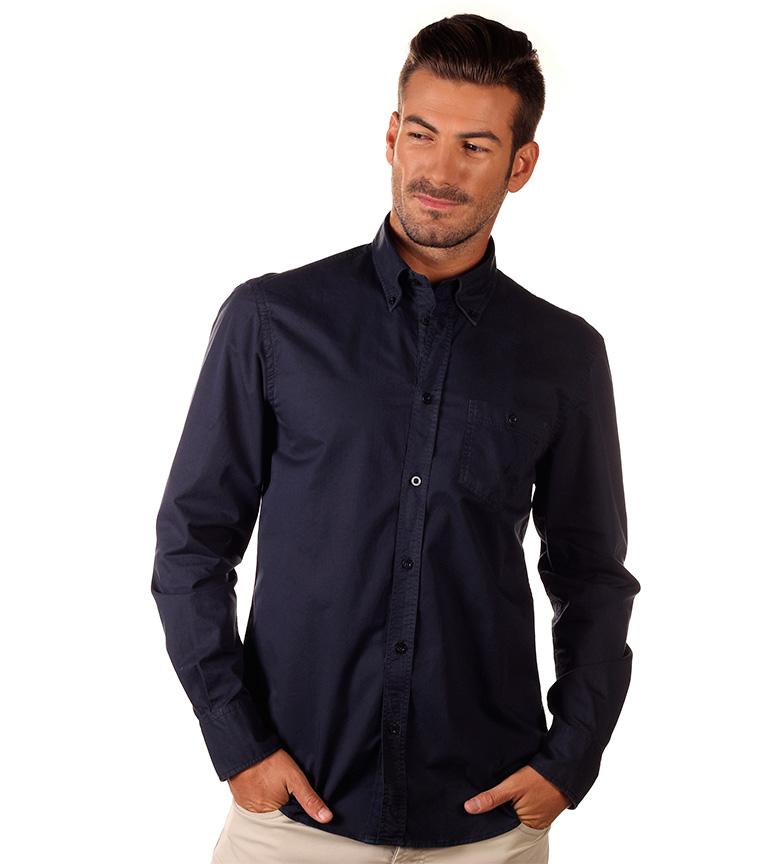 Nautica Camisa Basica marino