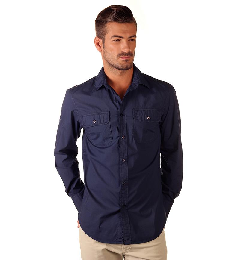 Comprar Nautica Camisa Weekend marino - Tienda Esdemarca