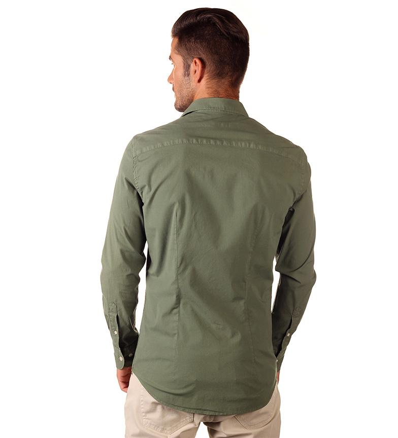 Nautica Camisa Basica verde
