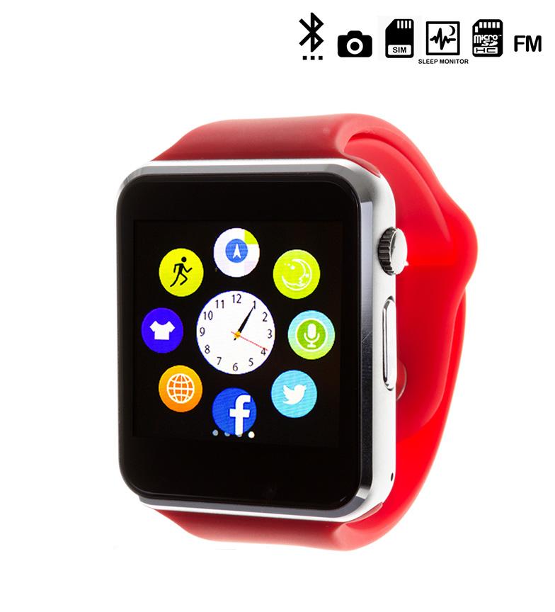 Comprar Tekkiwear by DAM Reloj digital con bluetooth G08 rojo