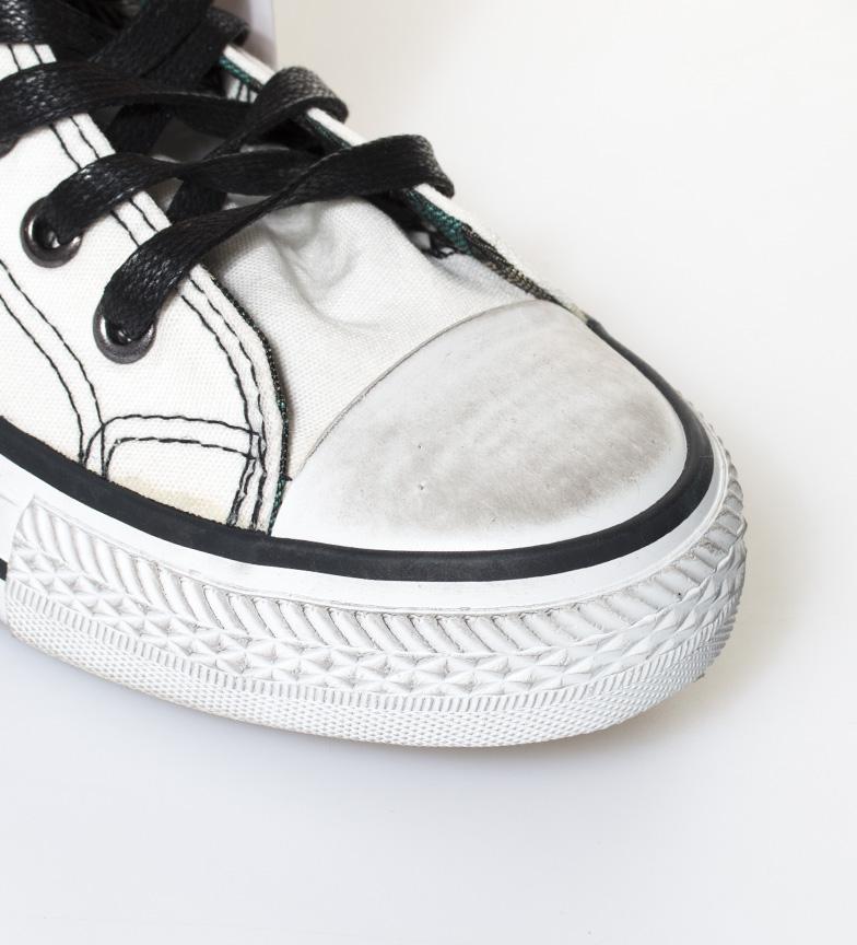blanco Trend Vintage Zapatillas Mustang High Chica XgpTqZ