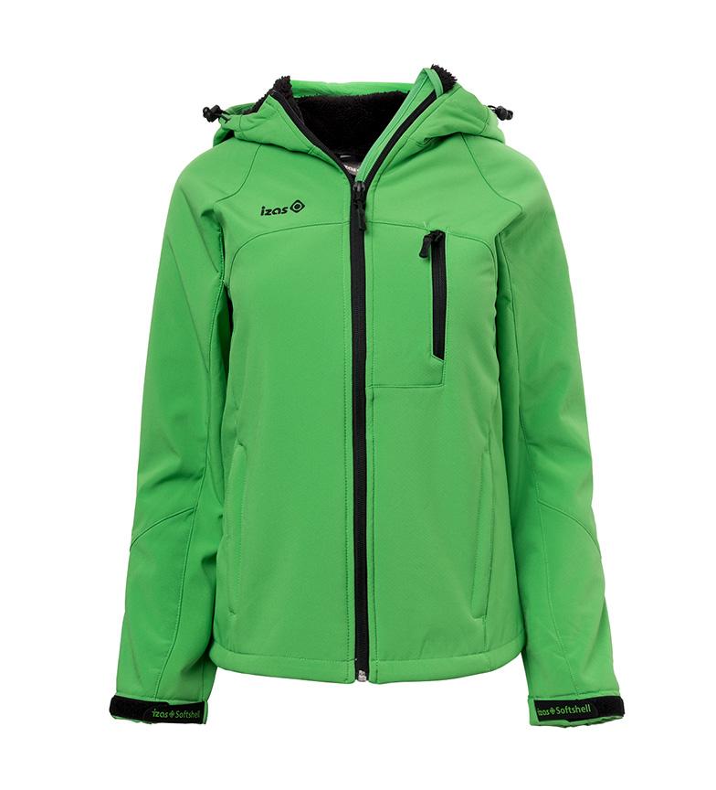 Comprar Izas Bislama green softshell jacket