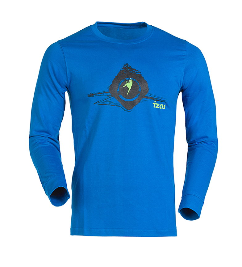 Comprar Izas Nordent royal blue t-shirt, black
