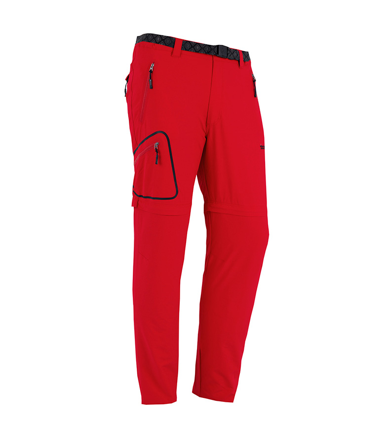 Comprar Izas Red elastic detachable trousers Red salor
