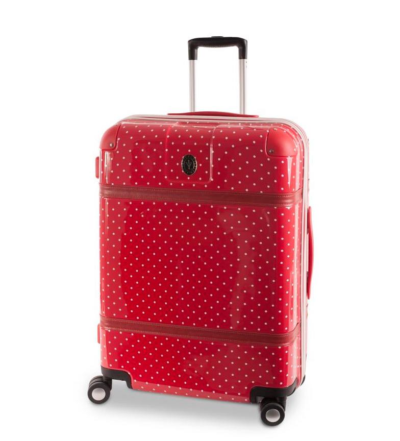 Comprar Victorio & Lucchino, V&L Trolley de 70cm Lunares rojo -50x75x31cm-