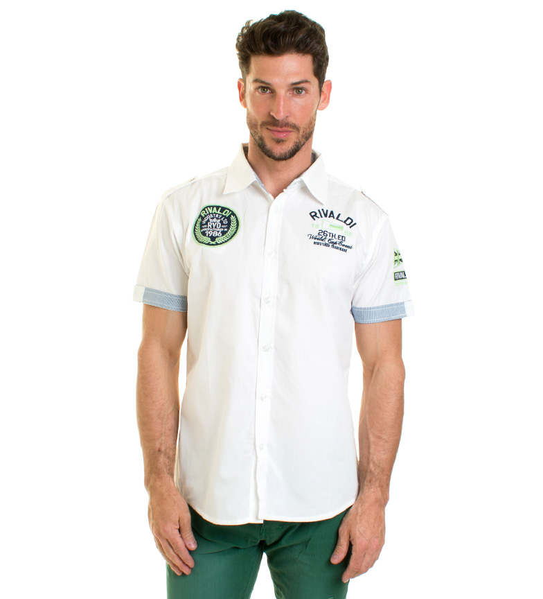 Comprar Rivaldi Jeans White Lubosy shirt