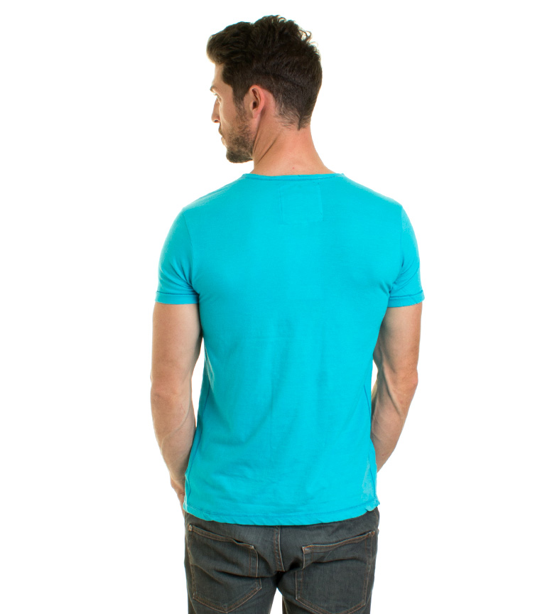 Biaggio Camiseta Lubenos turquesa