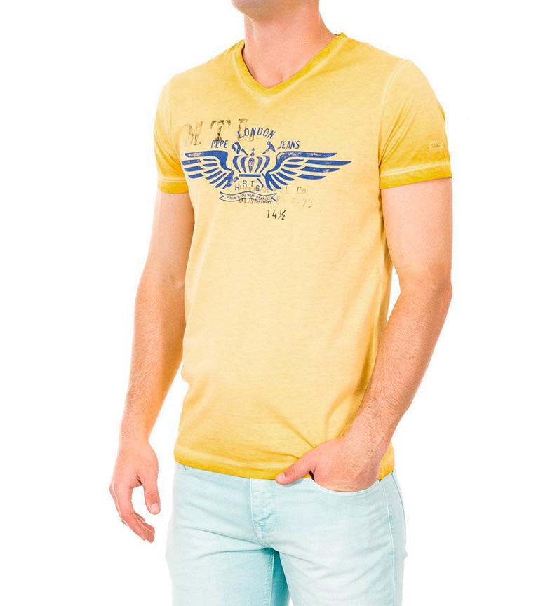 Comprar Pepe Jeans Camiseta Jakes mostaza