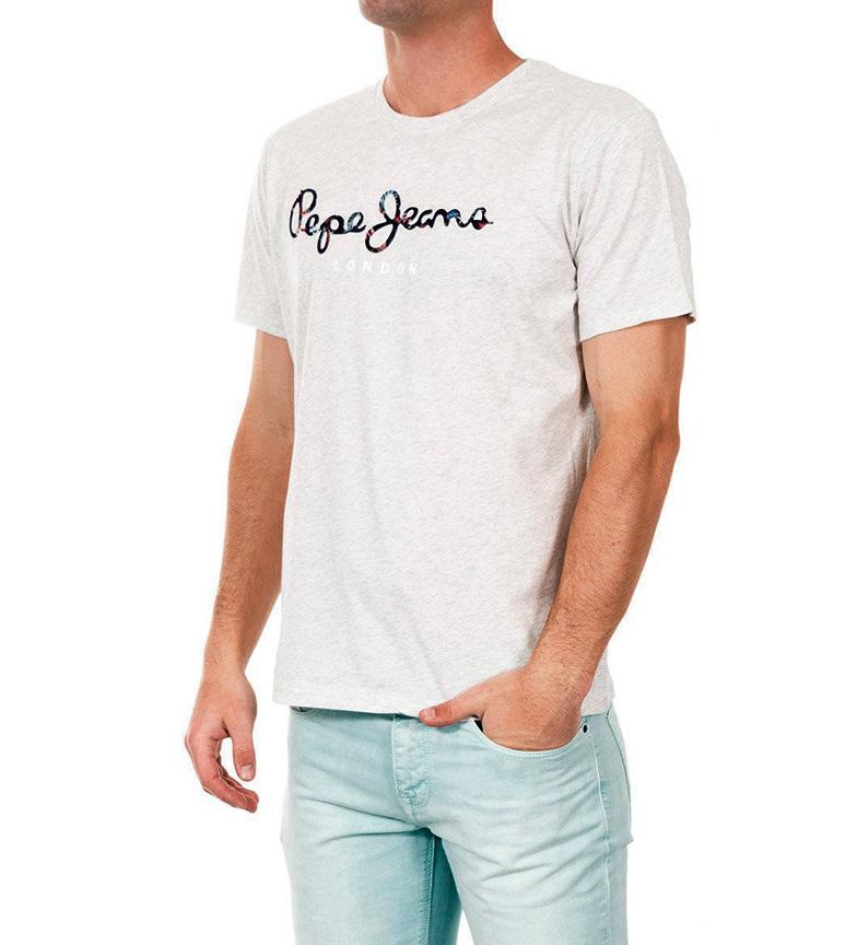 Gris Pepe Camiseta Simon Jaspeado Jeans eW9IHYD2E