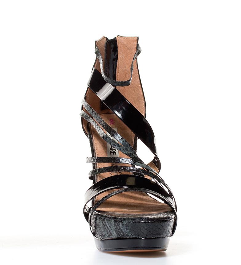 Mariamare - Sandalias Jemina negro-Altura tacón: 12,5cm-