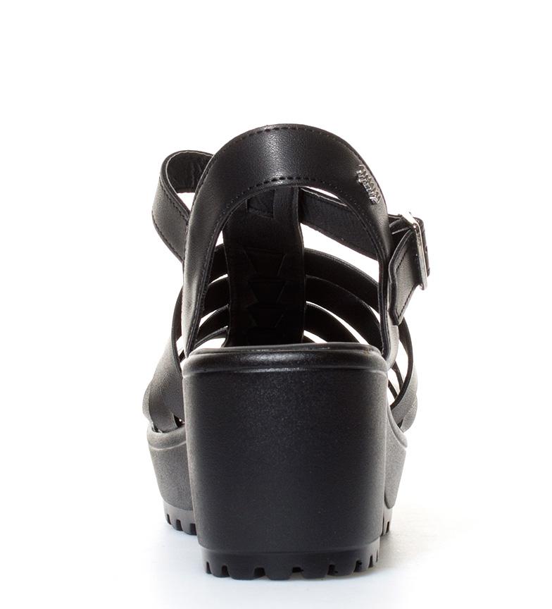 Tesino Sandalias 7cm negro br Altura Mustang tacón br 81aq5aw