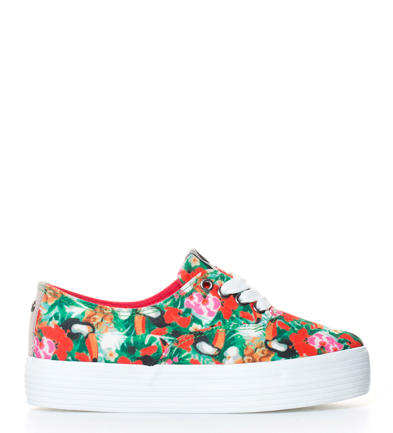 Comprar Mustang Happy shoes floral-print platform Height: 4cm-