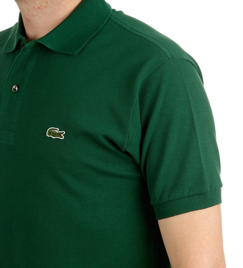 Lacoste-Polo-L-12-12-Bleu-Blanc-Noir-Rouge-Vert-Grenat-Coton-Casuel-homme