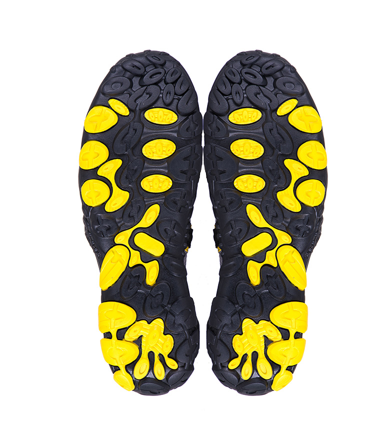 amarillo negro Izas de trekking Vancouver Sandalias IwxgX