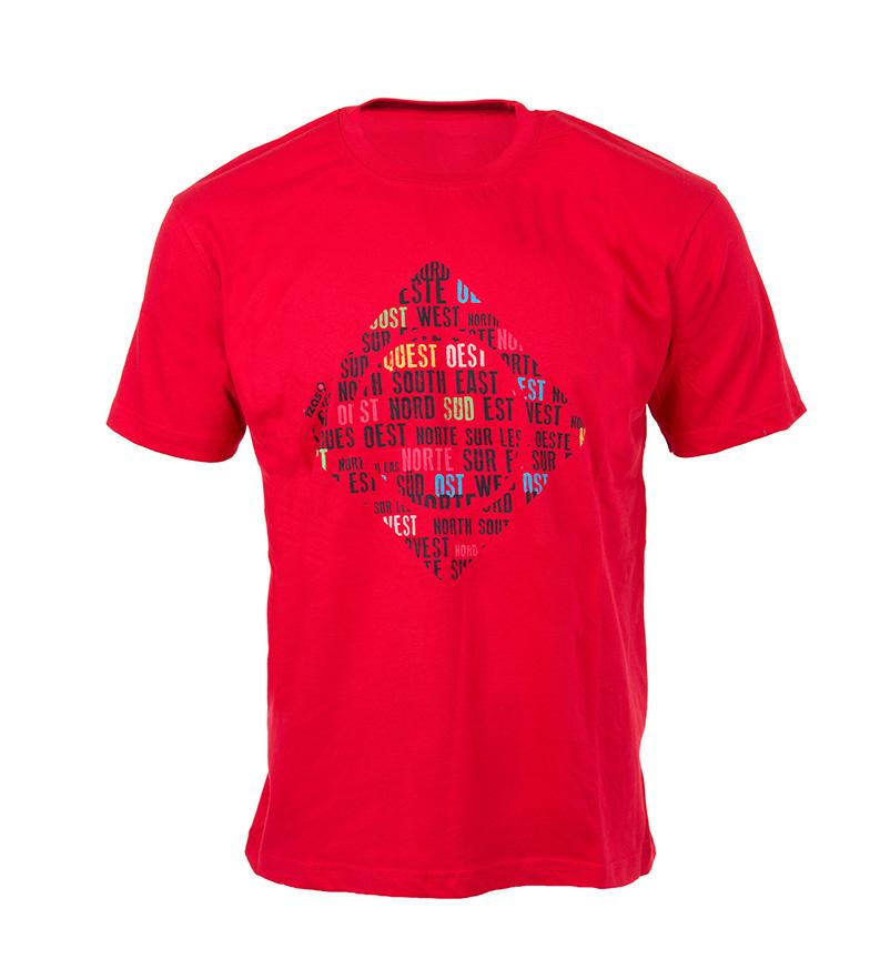 Comprar Izas Camiseta Gilbo rojo