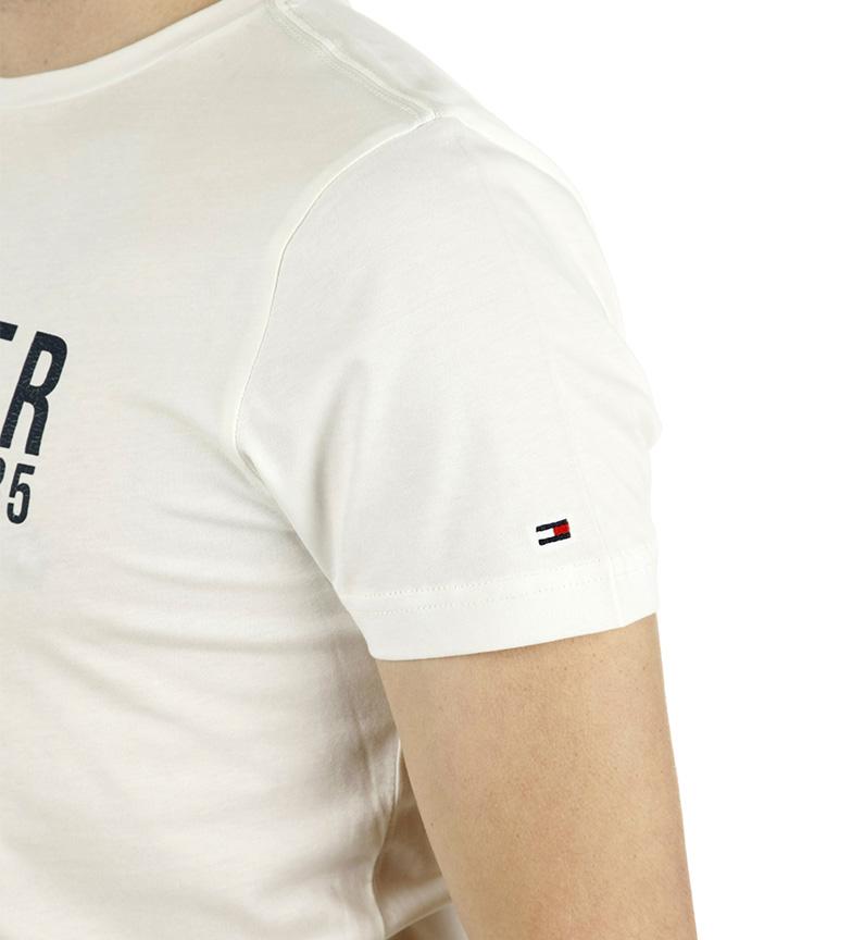 Tommy Hilfiger Camiseta Lars Tee blanco