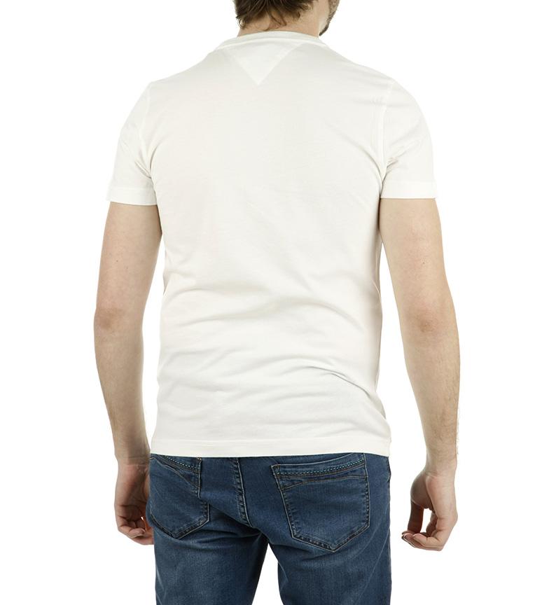 Wyatt Camiseta Tommy Hilfiger Tee Blanco WEHI9YD2