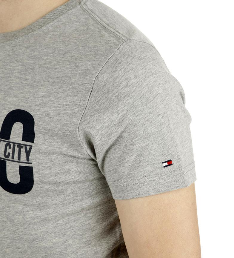 Tommy Hilfiger Camiseta Wyatt Tee gris