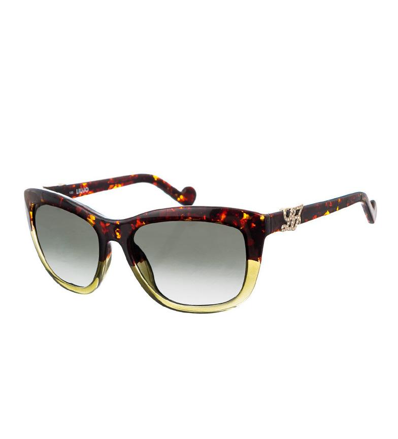 Liu-jo Lj615sr Solbriller Havana, Grønn
