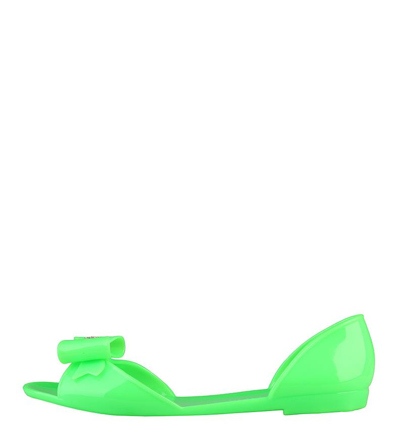Alta qualit Superga Ballerini in verde Donna vendita