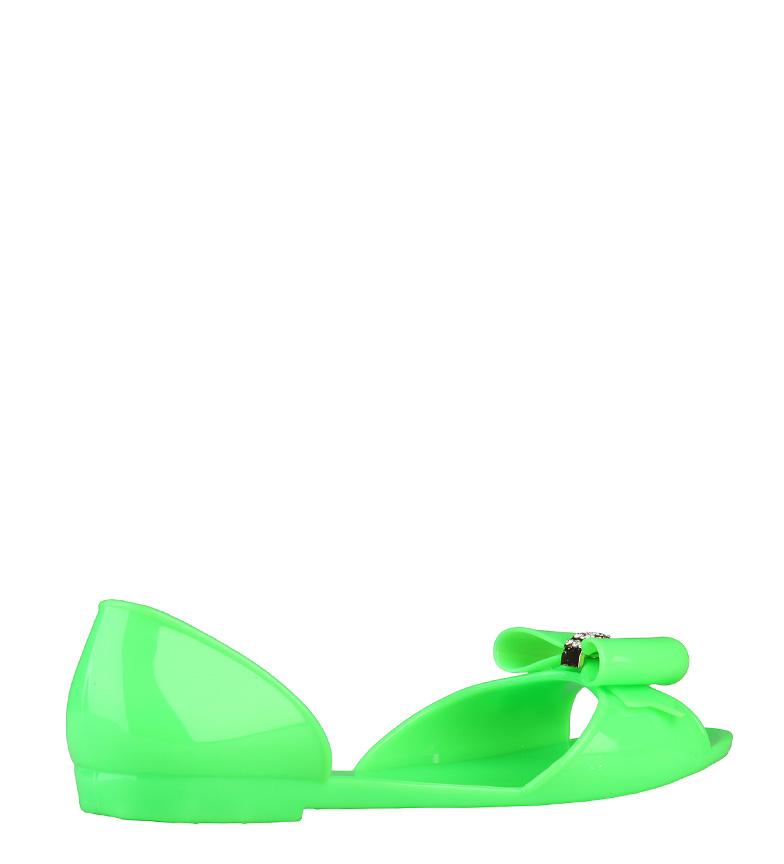 Superga Superga verde color Bailarinas Bailarinas en WY4vrY67