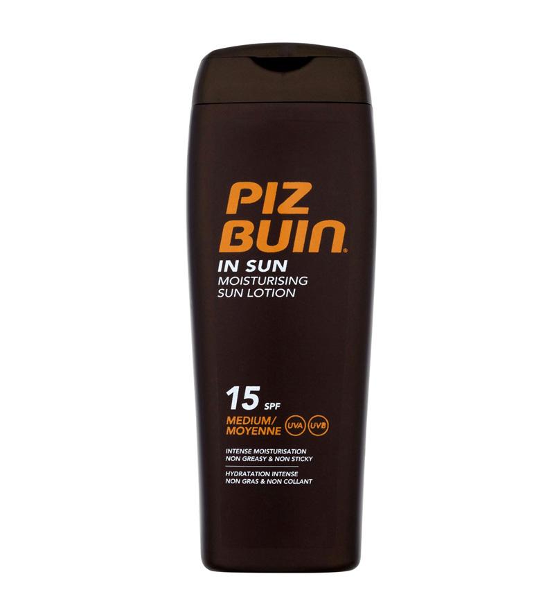 Comprar Piz Buin Loción solar hidratante SPF15 In Sun 200ml