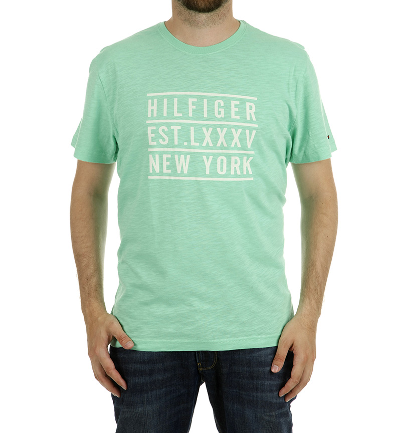 Comprar Tommy Hilfiger Johnny T-shirt turquoise