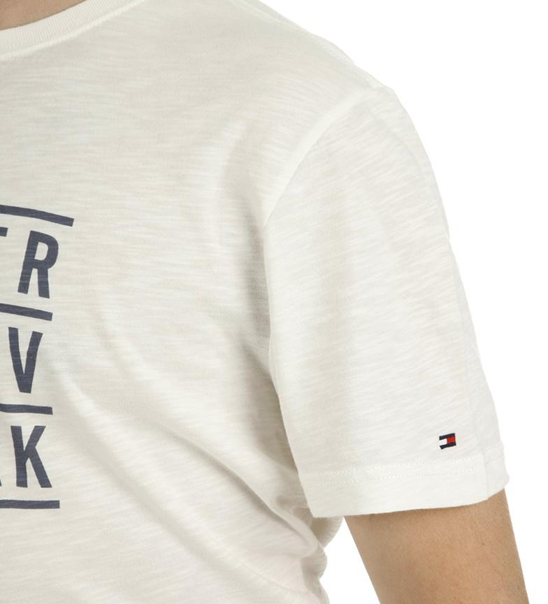 Tommy Hilfiger Camiseta Johnny Tee blanco