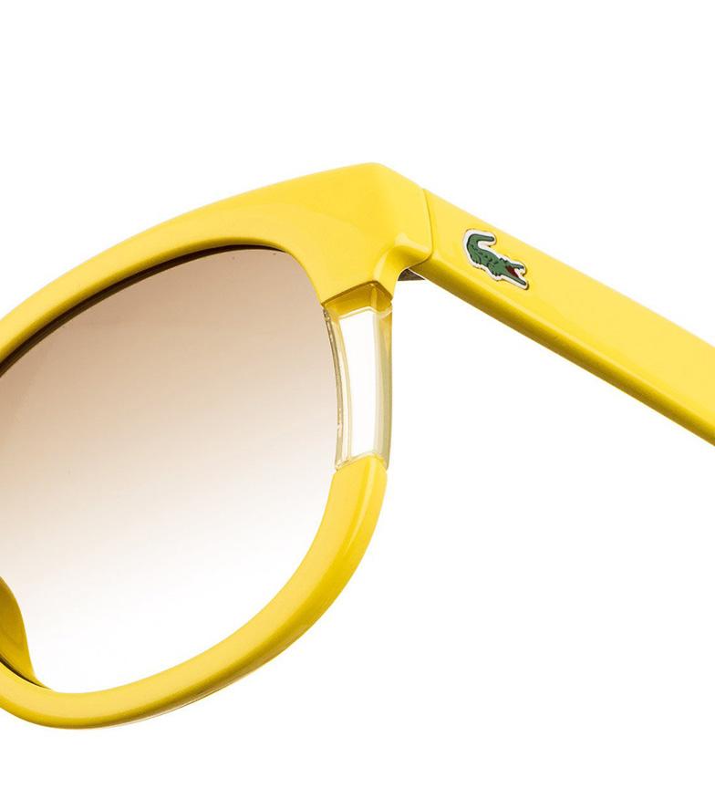 Lacoste L739s Solbriller Gul Sol gratis frakt eksklusive MNU2cu