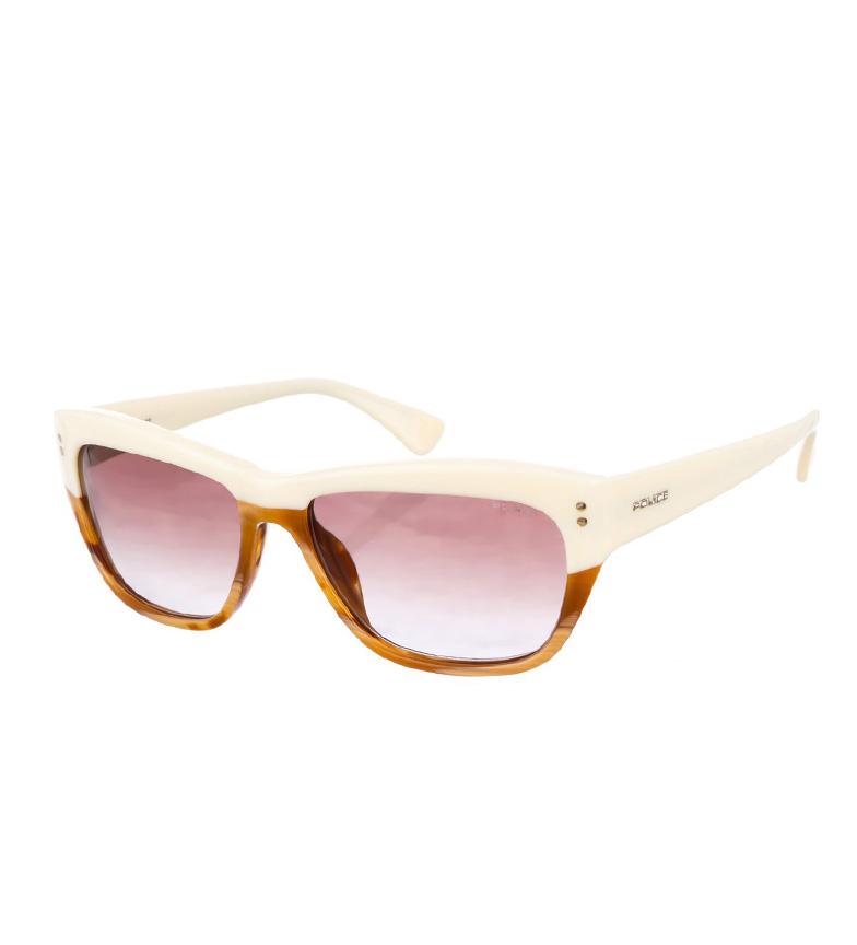Police Gafas de sol S1727 blanco-habana