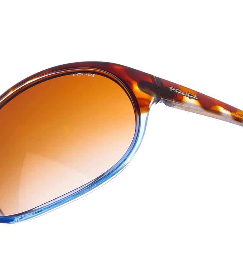 Politiet Solbriller Havana-blått Glass S1864m klaring geniue forhandler 100% original online handle uSn8y3