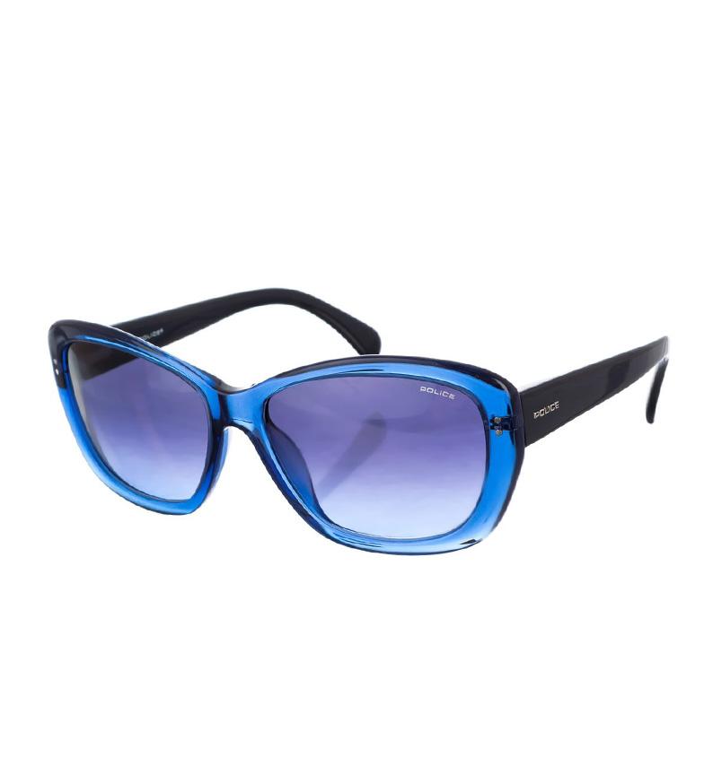 Police Gafas de sol S1676 azul cristal-marino