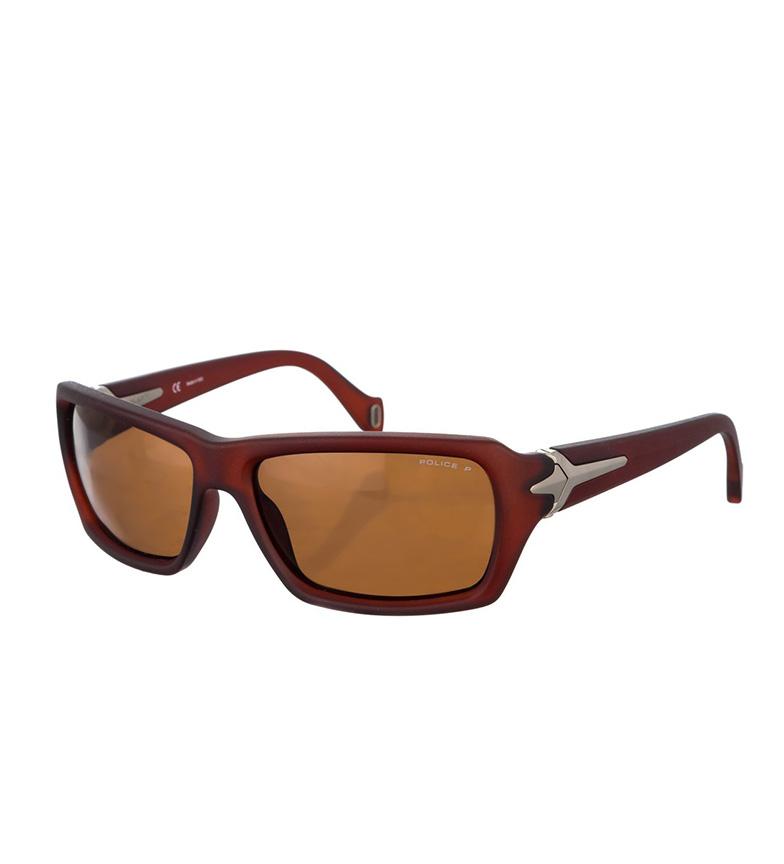 Politiet Solbriller S1710 Mørk Matt Brun Mørk kjøpe billig 2015 b7G1WLAPU