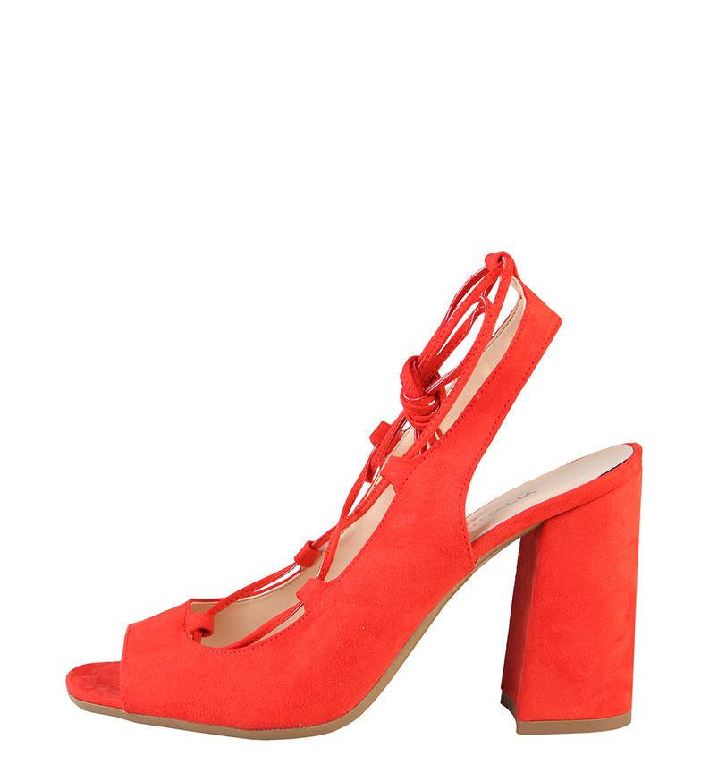 Comprar Made In Italia Zapatos Linda color rojo -Tacón de 10cm-