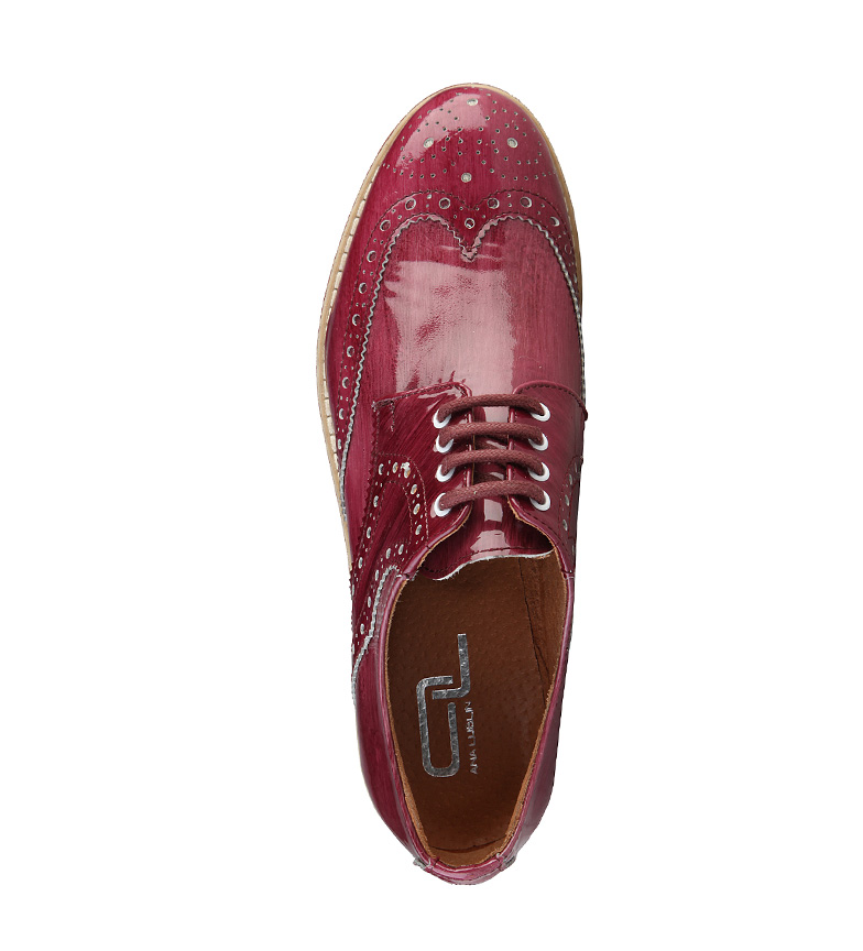 Ana Ana Lublin Zapatos Zapatos Lublin Camila de granate cuero de w5aFtq1