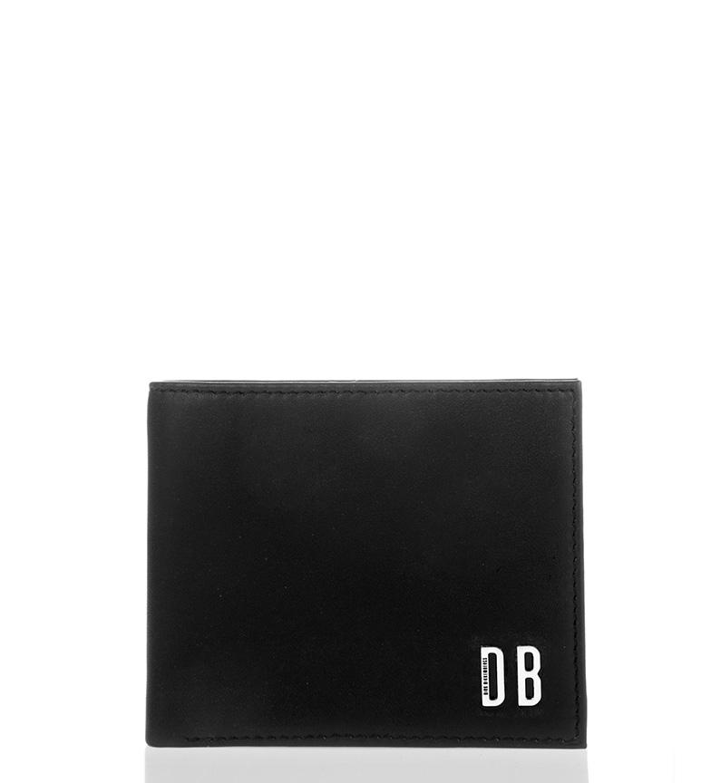 Comprar Bikkembergs Cartera de piel DB-Wallet black -11,5x9,2cm-