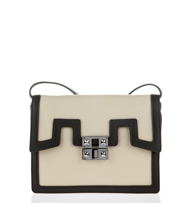Comprar Liu Jo Mini Cross Over Simi Pocket Ivory-26x19,5x9cm-